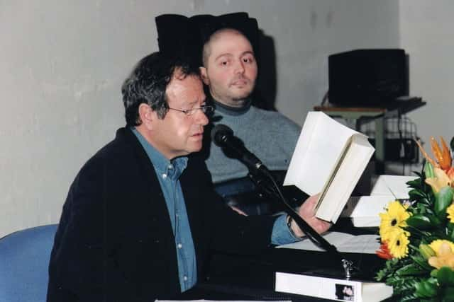 José María mendiluce y José Antonio Fortuny